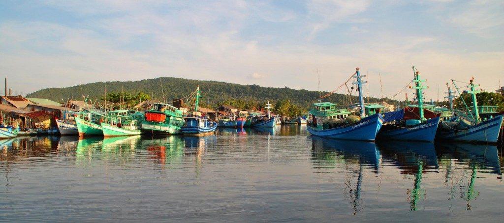 Ham Ninh Port in Phu Quoc Island, Vietnam
