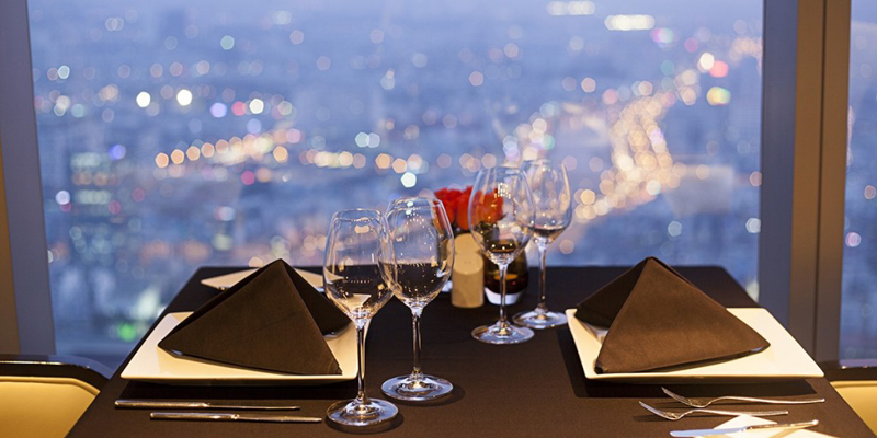 Dinner at Cafe EON51 on Bitexco Tower