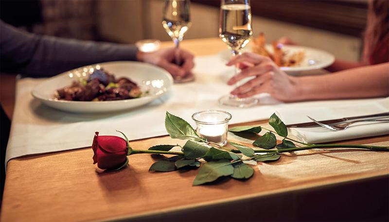 Romantic dinner for two in Saigon, Vietnam