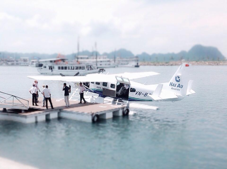 promotion halong bay seaplane tour