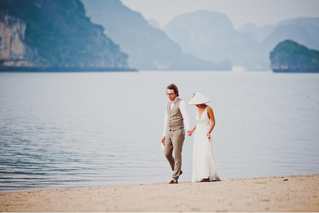 Halong Bay- The Romantic Destination for Pre-Wedding Photography in Vietnam