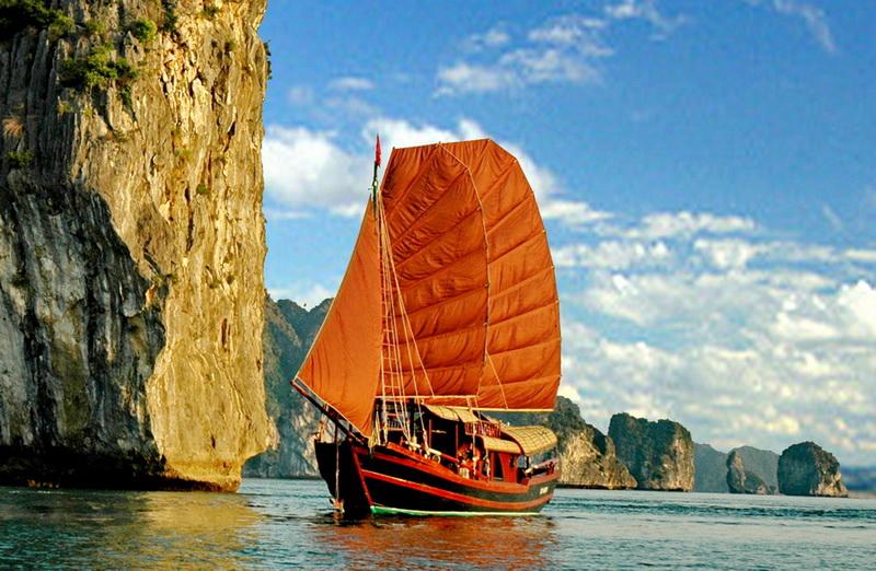 Princess Junk in Halong Bay, Vietnam