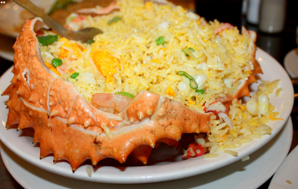 Crab Fried Rice - one of 10 best dishes in Phu Quoc Island