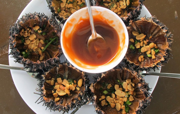 Sea Urchin Phu Quoc - One of 10 best dishes in Phu Quoc, Vietnam