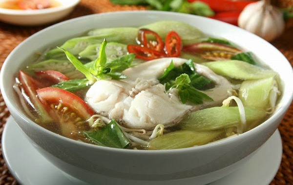 Sour Soup with Cobia - One of 10 best dishes in Phu Quoc, Vietnam