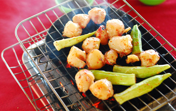 """The """"Coi Bien Mai"""" Grilled with Salt and Chili - One of 10 best dishes in Phu Quoc, Vietnam"""