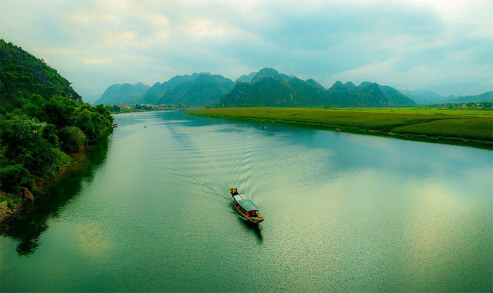 Quang Binh beautiful landscape