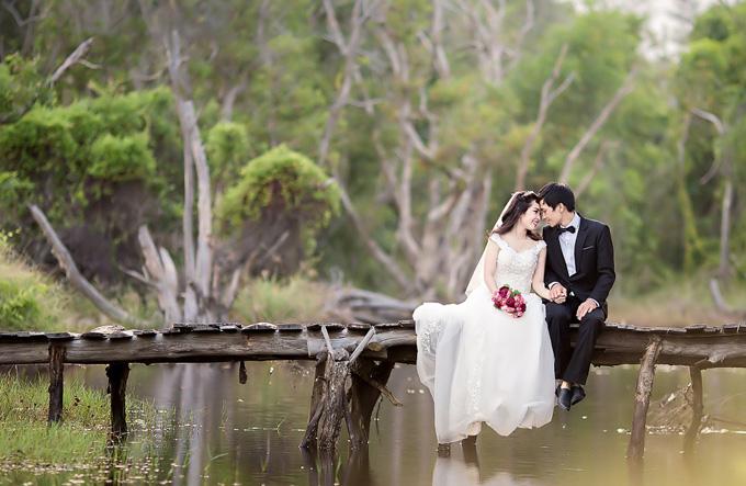 Pre-wedding photography at Saigon Botanical Garden