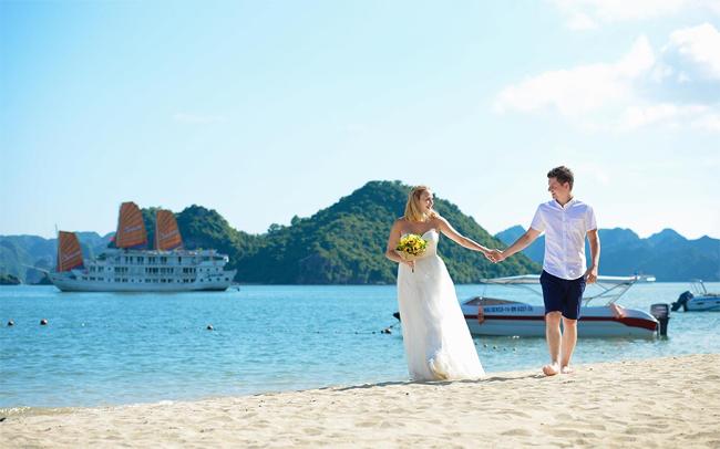 Wedding photography in Halong Bay