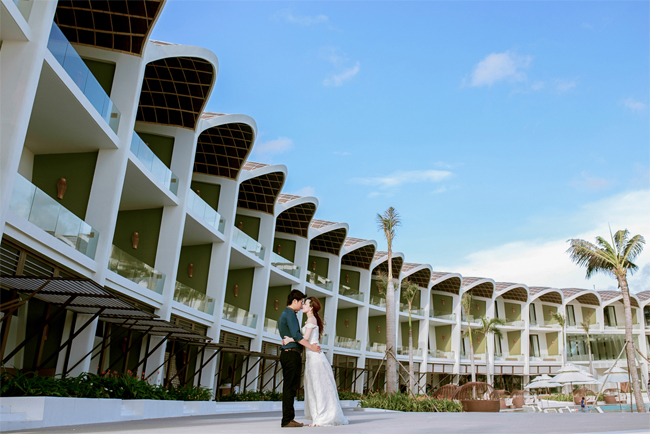 Wedding Photography at one of several luxury resorts in Phu Quoc Island