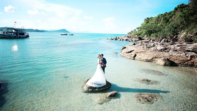Wedding Photography in An Thoi Archipelago