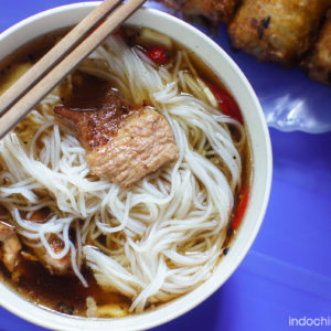 Bun Cha - Rice noodles with barbecue pork