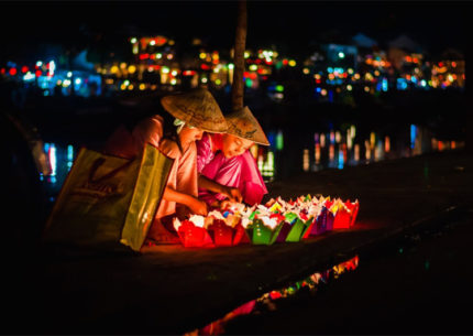 The Lanterns in Hoi An Ancient Town, Vietnam