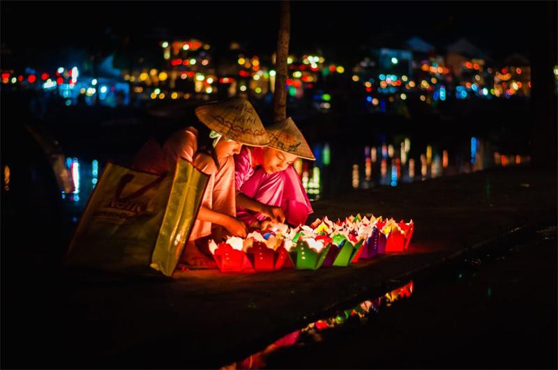 The Lanterns in Hoi An Ancient Town, Vietnam