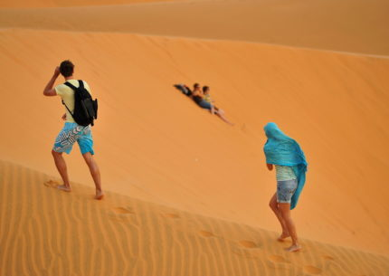Red Sand Dunes in Mui Ne Vietnam