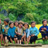 Children at Ban Ho Village, Sapa, Vietnam