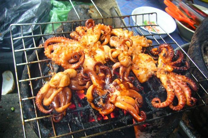 Grilled Seafood – Nha Trang local Street Food