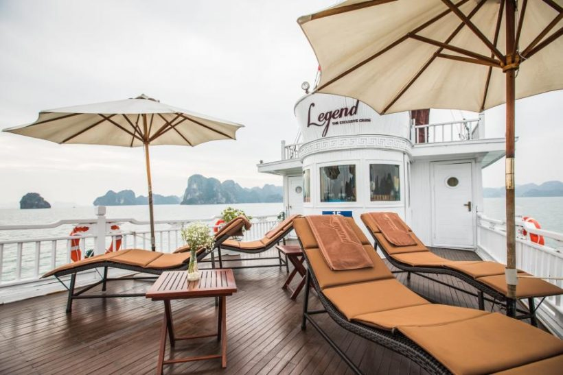 Legend Cruise Halong Bay – Sundeck