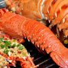 Lobster Dish at Con Dao Island Vietnam