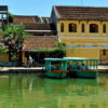 Hoi An Town by Thu Bon River