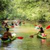 Kayaking on Cua Can River, Phu Quoc Island, Vietnam