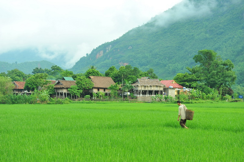 A Thai Village in Mai Chau