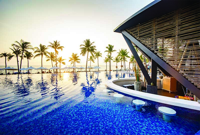Swimming pool at Novotel Resort Phu Quoc