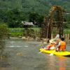 Kayaking in Pu Luong Nature Reserve