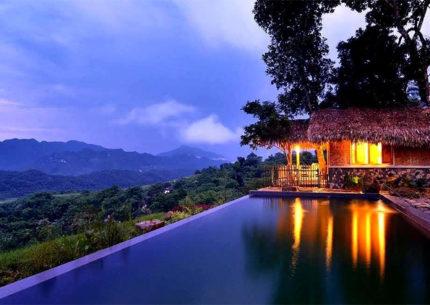 Swimming Pool at Pu Luong Retreat