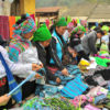 At a hill-tribe weekly market in Lao Cai
