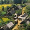 A hill-tribe Village at Sapa, Vietnam