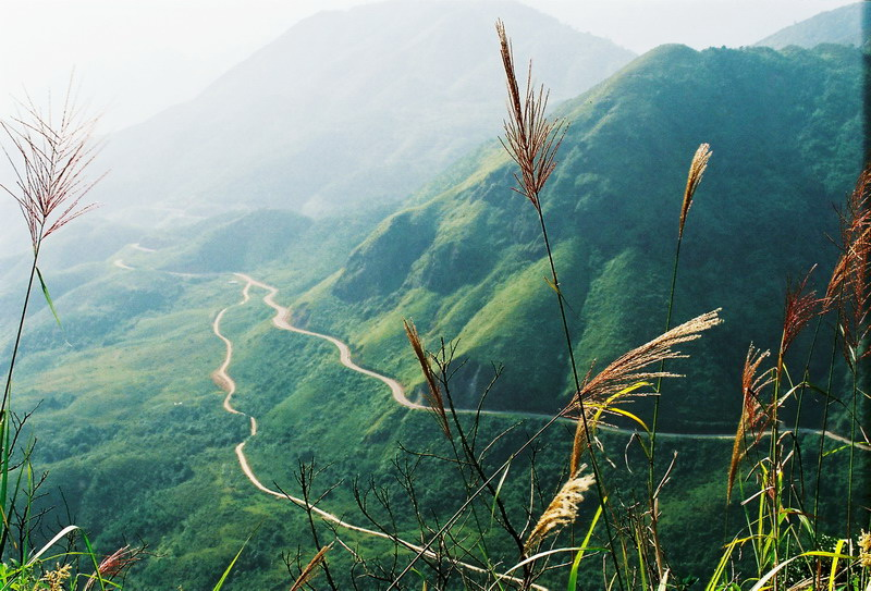 The road from Lao Cai to Sapa