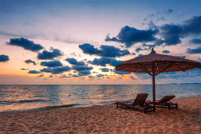 Sunset at Phu Quoc Island, Vietnam