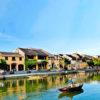 Thu Bon River, Hoi An Town, Vietnam