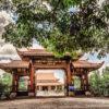 Truc Lam Zen Monastery in Da Lat, Vietnam