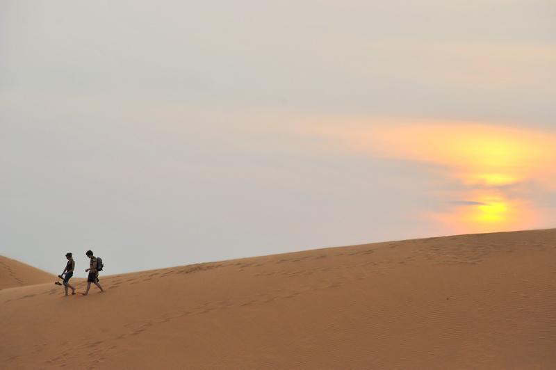 Red Sand Dunes at Mui Ne