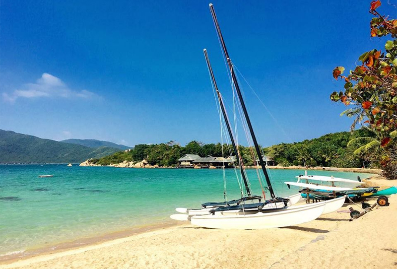 Whale Island in Nha Trang Bay, Vietnam
