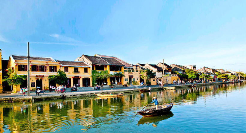 Hoi An Town on Thu Bon River