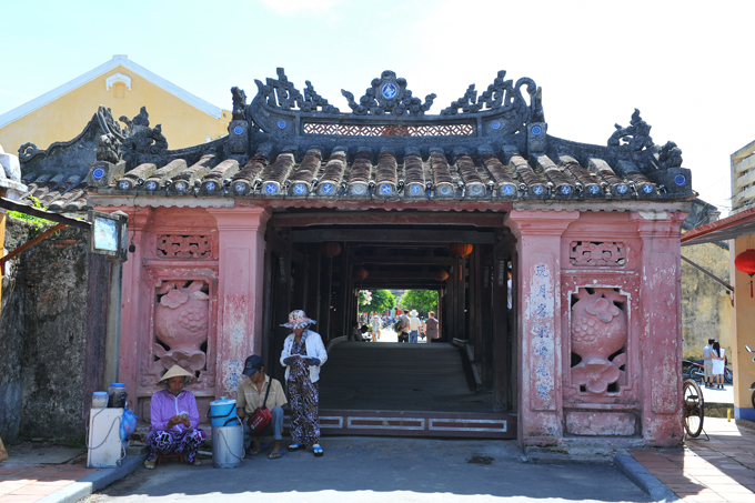 Japanese Bridge in Hoi An Town