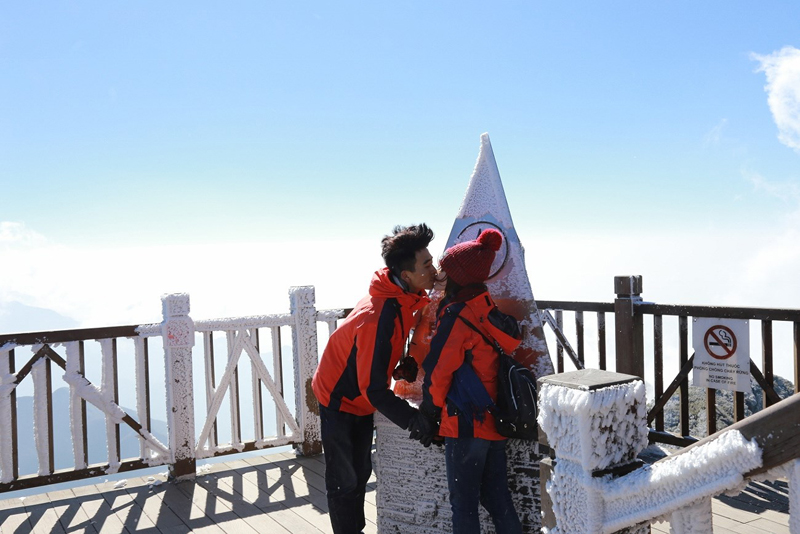 Fansipan Mountain in Sapa - Check in place for young travelers