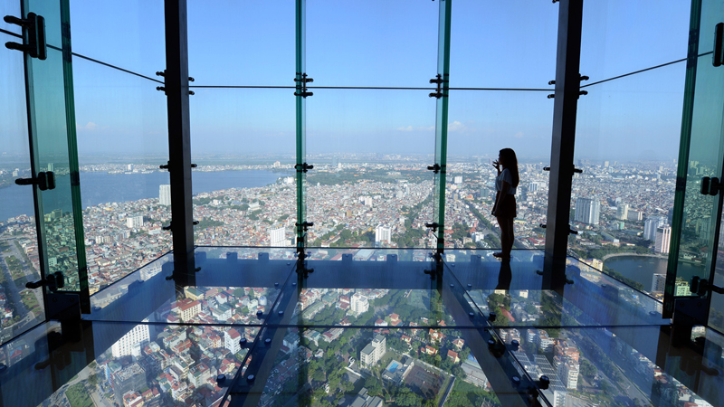 Lotte Center Hanoi - New check in place for young tourists