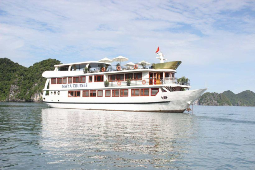 Maya Cruise in Lan Ha Bay