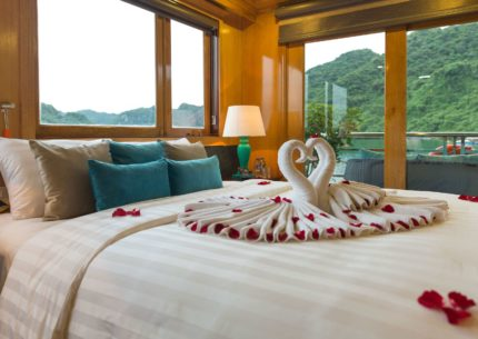 Honeymoon Suite on Maya Cruise Lan Ha Bay