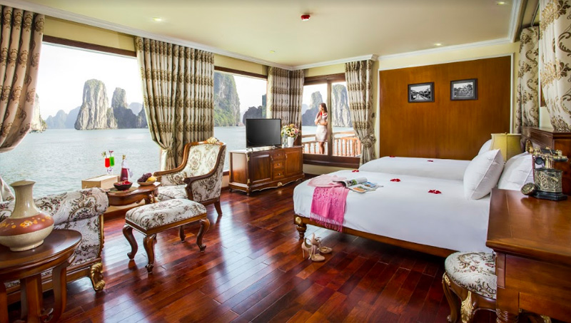 Suite on Emperor Cruise in Halong Bay