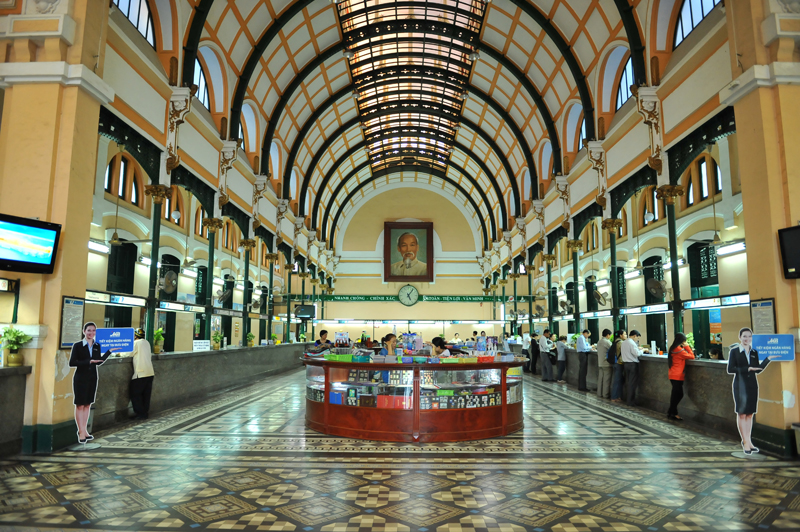 Post Office in Ho Chi Minh City