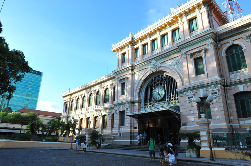Post Office in Saigon (HCM City)