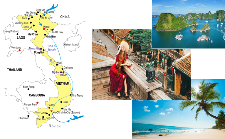 Vietnam cheap honeymoon package 10 days