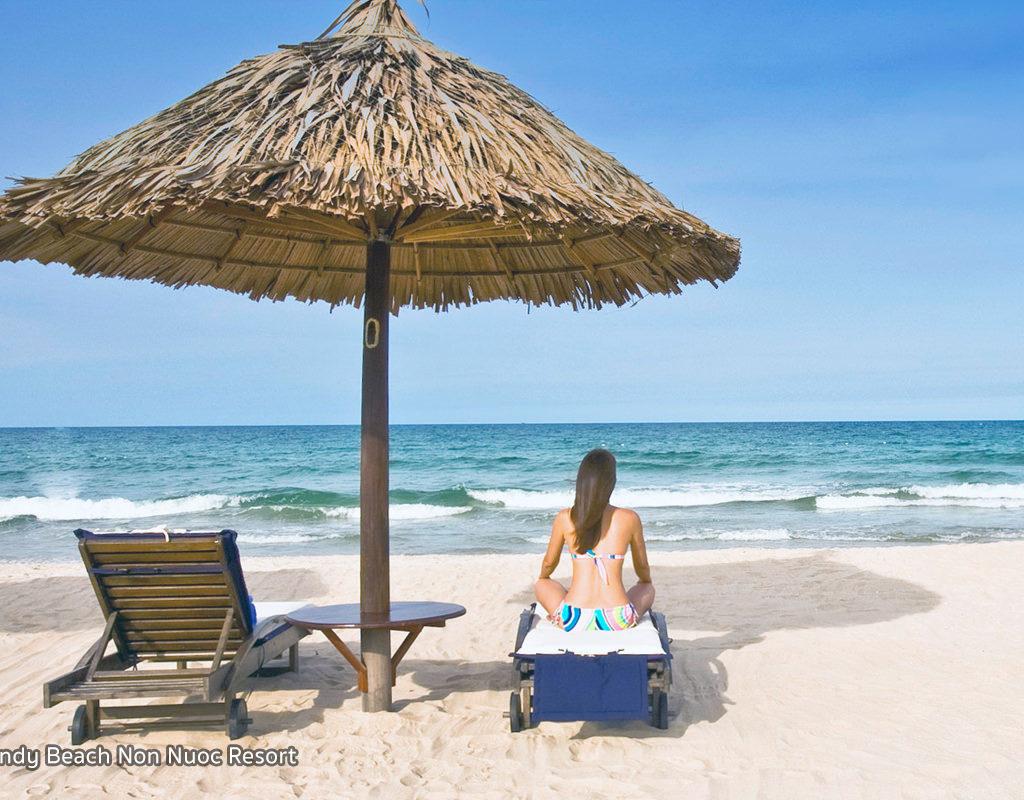 #1: Sandy Beach (Bai Bien Non Nuoc) in Da Nang City