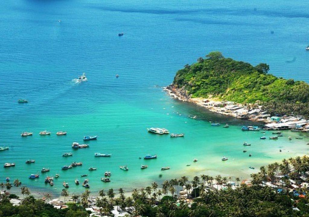 #8: Cay Men Beach (Nam Du Island) in Kien Giang Province