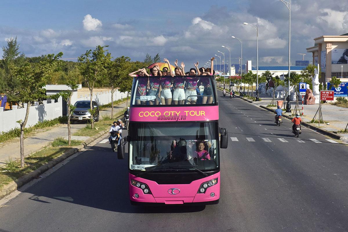 Da Nang City tour by double decker bus